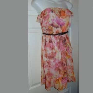 New Charlotte Russe strapless dress size Small